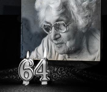 S57-Monochrome-MLMilhausen-Gramma's Birthday