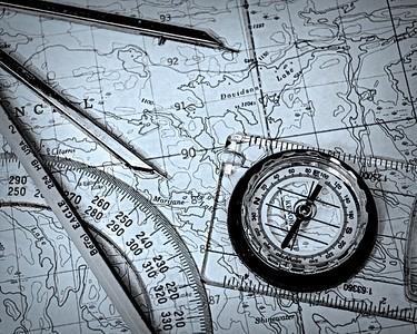 S117-mono 1-Bob Poole-Navigating Manitoba