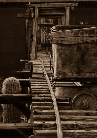 AZ Mine Cart_Sepia