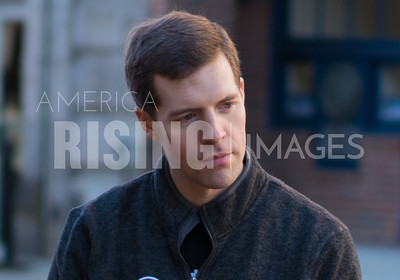 Conor Lamb At SEIU Rally In Washington, PA