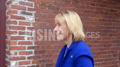 Maggie Hassan At Hillary Clinton Canvass Kick-Off In Portsmouth, NH