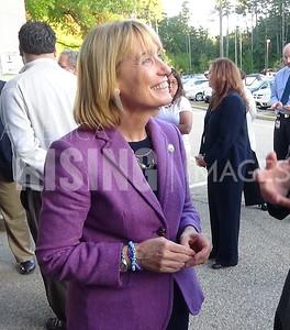 Maggie Hassan At Deerfield Fair Opening Ceremony In Deerfield, NH