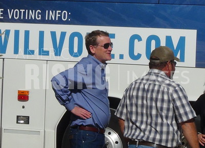 Michael Bennet At 'Pumpkins And Polls On The Plains' In La Junta, CO