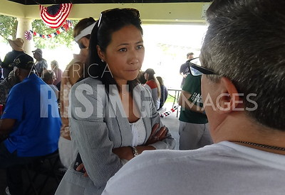 Stephanie Murphy At Seminole Democrats Labor Day Picnic In Sanford, FL
