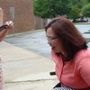 Tammy Duckworth Tours Eurma Hayes Center In Carbondale, IL
