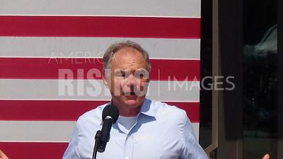 Tim Kaine At Roanoke College Healthcare Rally In Salem, VA