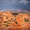 Brad Kincaid,   Rainbow Over Coyote Buttes South