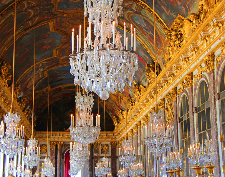 Judith Manocchia,   Hall of Mirrors, Versailles