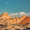 Karen Larson,   Moonrise Over Silica Dome