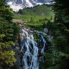 Cherie Tolliver,   Mt. Rainier and Myrtle Falls