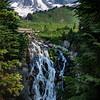 Cherie Tolliver,   Mt. Rainier and Myrtle Falls