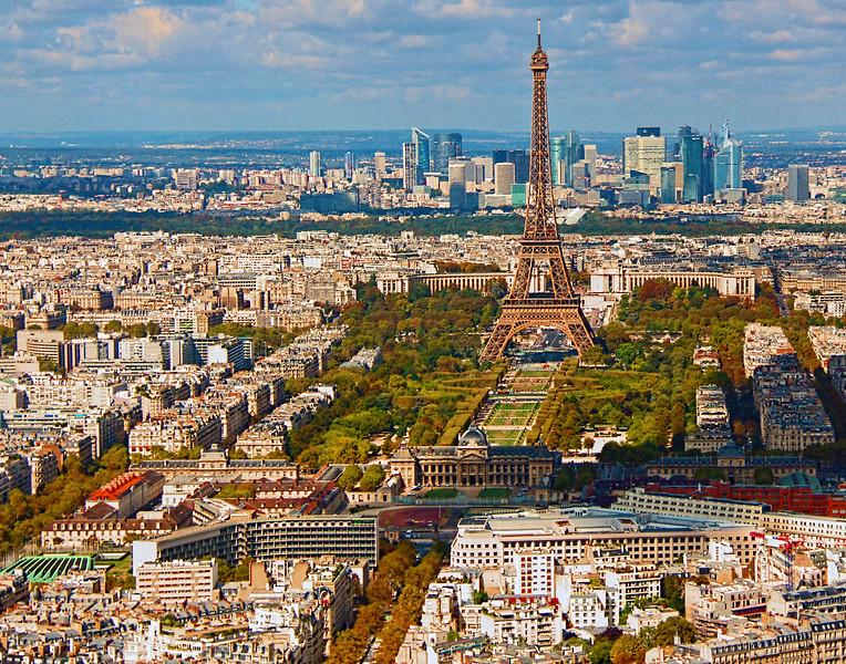 Judith Manocchia,   Paris skyline
