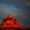 Mark Thomas,   Stormy Bell Rock Sunset