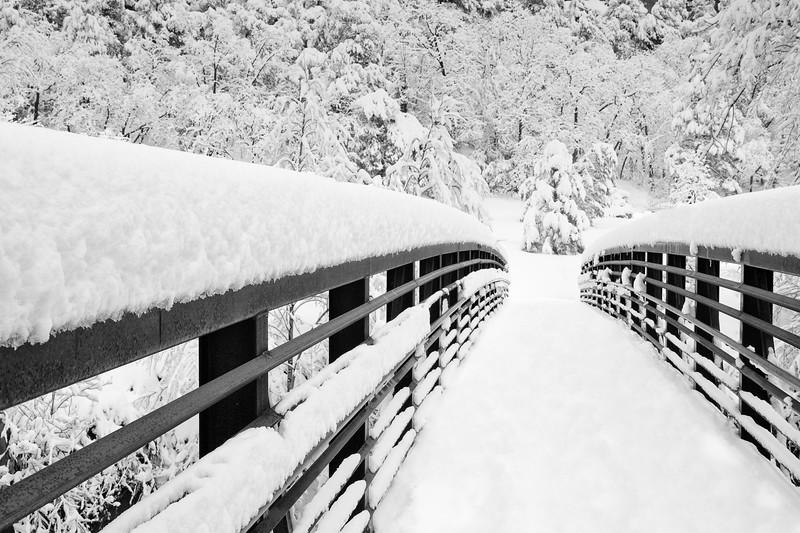 Roger Kiel,   Winter at West Fork