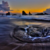 Monte Jensen,   Sunset Bandon Beach