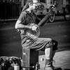 John Gafford,   Banjo Busker
