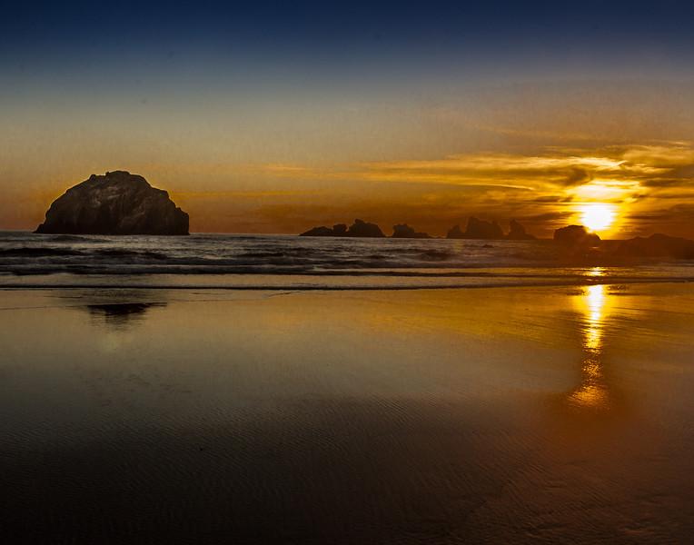 Monte Jensen,   Face Rock Beach