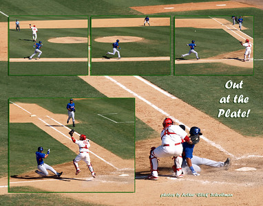 Out at the Plate Arthur Schreibman