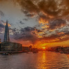 Thames Sunset From Tower Bridge