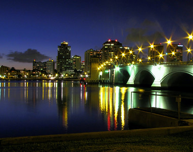 West Palm after sunset Bruce Smith