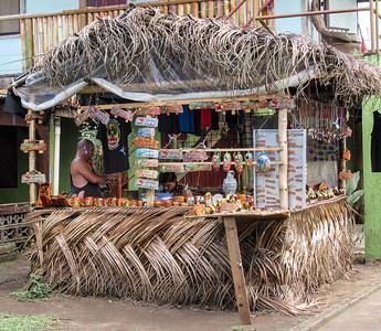 The souvenier stall