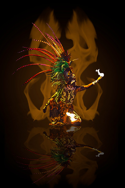 AR-Mayan Fire Priest-Dale Read