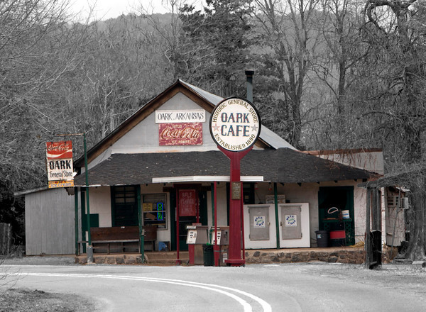 Oark General Store by Danny Haddox