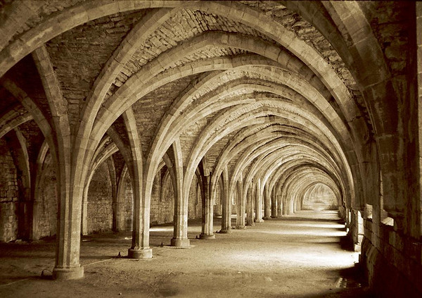 The Muniment Room, Fountains Abbey