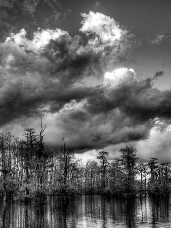 Black Lake Storm - Black and White<br /> Score 10<br /> Dwayne Anders
