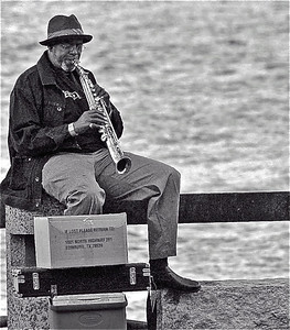 Sax on Savannah Dock