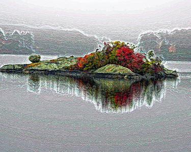 Island in Fall