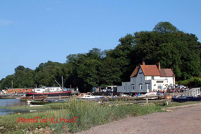 Pin Mill on River Orwell, Suffolk