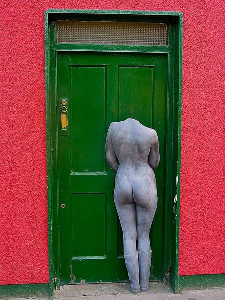At the Green Door