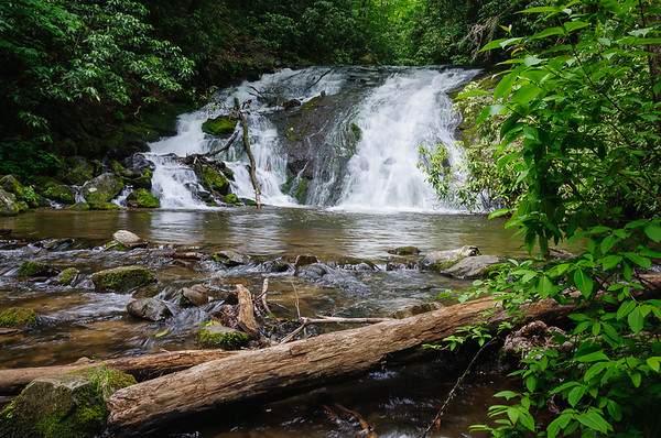 Indian Creek Falls, by: Jim Lawrence, Landscape, Score: 12