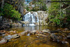 Double Falls and Pools, by: Jim Lawrence, Landscape, score: 11