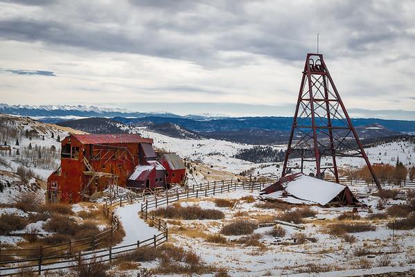 Dreary Colorado Mine
