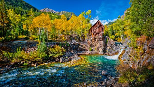 Crystal Mill RVP  by: Jim Lawrence  Landscape  1st HM