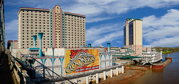 Shreveport Casinos, by: Jim Lawrence, Cityscapes, Score: 12