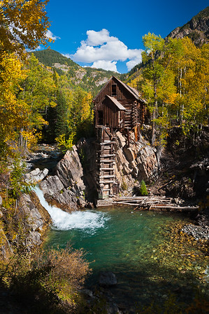 Crystal Mill V  by: Jim Lawrence  Landscape  2nd HM
