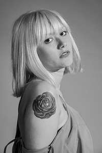 Girl with the Rose Tattoo