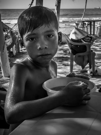 Colombian Beach Boy