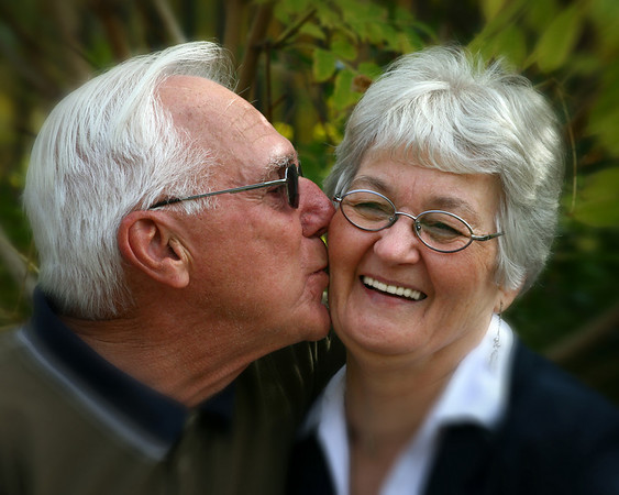 GUY & HELENE -  This photo won first place at the 2010 'Saskatoon Council on Aging',  Age Alive Photo Exhibition.