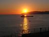 sunset at Gibralter
