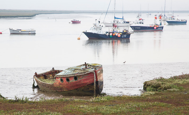 Boats At Orford
