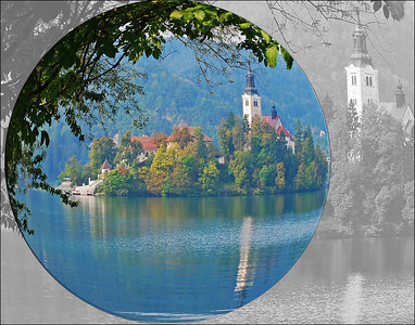 Lake Bled Magnified