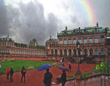 Downpour In Dresden