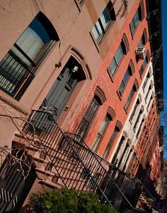 Brownstones Of Manhattan