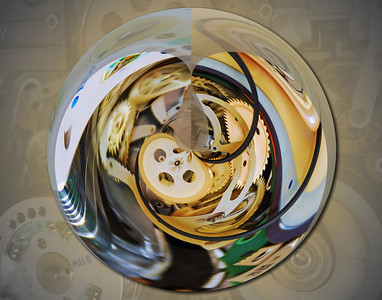 Time In Spherical Terms
