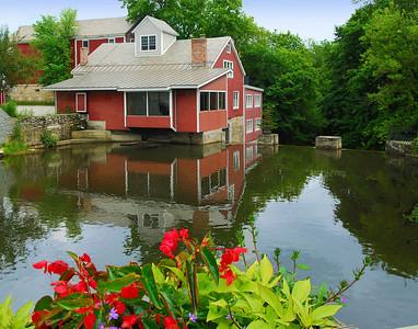 Grist Mill In Manchester, Vermont