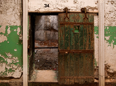 Jail Cell At Eastern State Penitentiary